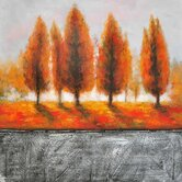 Serene Fall Day I Canvas Art