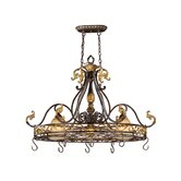 Caesar Pot Rack Chandelier