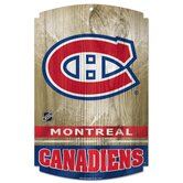 NHL Wood Sign