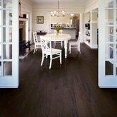 """Rialto Plank 4-1/2"""" Engineered Red Oak Flooring in Burnt Umber"""