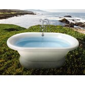 Era Freestanding Double-Ended Tub with Pedestal