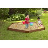 Hexagon Sandbox 7'x8'x6&quot;