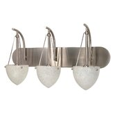 South Beach  Vanity Light in Brushed Nickel