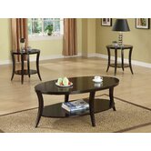 Raford 3 Piece Coffee Table Set