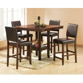 Alford 5 Piece Counter Height Dining Set