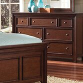 Heritage Oak 7 Drawer Dresser