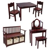 Classic Kids 6 Piece Furniture Set