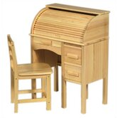 "Jr. Roll-Top 27"" W Writing Desk"