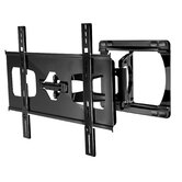 "Ultra-Slim Large Articulating Wall Bracket for 37-55"" Screens in Gloss Black"