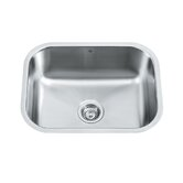"23"" Stainless Steel Undermount Kitchen Sink Set"