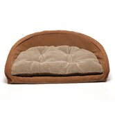 Ortho Kuddle Kup Dog Bed in Chocolate