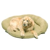 Memory Foam Bolster Dog Bed with Protector™ Pad in Sage