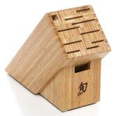 11 Slot Bamboo Knife Block
