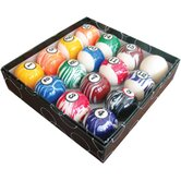 Action Billiard Balls White Marble Ball Set