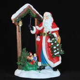 """Bell Ringer Father Christmas"" Limited Edition Santa with Bell Figurine"