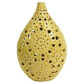 Lopez Small Floral Pierced Vase