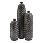 3 Piece Zurie Vase Set
