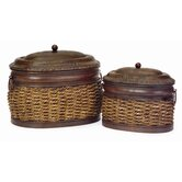 2 Piece Lidded Box Set
