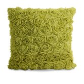 Vera Rose Pillow in Green