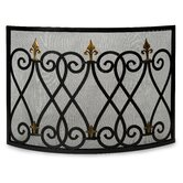 Mauresque Cast Iron Fireplace Screen