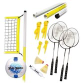 Advanced Badminton and Volleyball Set