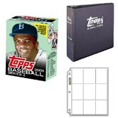 MLB 2009 Cereal Box Trading Cards Set - Jackie Robinson
