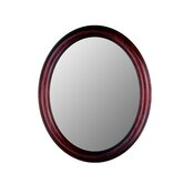 Premier Series Oval Mirror in Rosewood