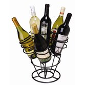 Bouquet 6 Bottle Tabletop Wine Rack