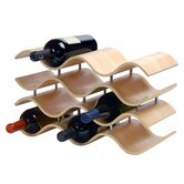 Bali 10 Bottle Tabletop Wine Rack