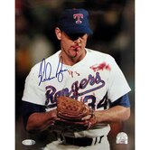 Nolan Ryan Blood Vertical Autographed