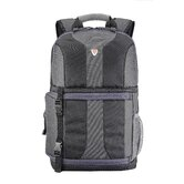 Impulse Fashion Place DSLR Camera / Notebook Backpack in Black