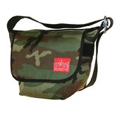 Vintage Messenger Bag in Camouflage
