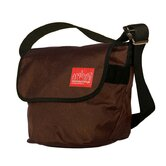 Vintage Messenger Bag in Dark Brown