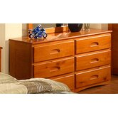 Weston 6-Drawer Dresser