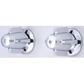 "Volume Control Bath Valve Shower with 6"" Centers"