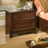 Loft 2 Drawer Nightstand