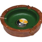 Novelty Items Eight and Nine Ball Ash Tray