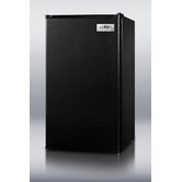 35.5&quot; x 18.75&quot; Refrigerator Freezer in Black