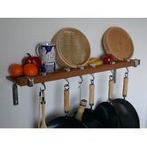 Track Rack Wall Pot Rack