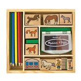 Horses Stamp Set Arts &amp; Crafts Kit