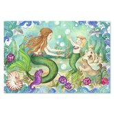 Mermaid Playground 48 Piece Floor Puzzle Set
