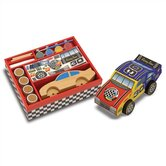 DYO Race Car Arts &amp; Crafts Kit