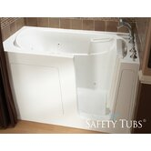 "GelCoat 60"" x 30"" Bath Tub with Dual Massage"