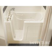 "GelCoat 54"" x 30"" Bath Tub with Dual Massage"