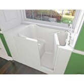 GelCoat 48&quot; x 28&quot; Bath Tub with Jet Massage