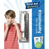 Learn & Play Harmonica with Instruction Book