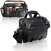 Business Messenger Briefcase in Black