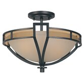 Majorca 2 Light Semi-Flush Mount