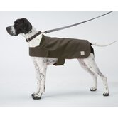 Shelter Dog Coat in Otter Green