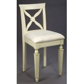 24&quot; Bar Stool in Distressed White